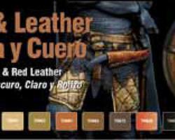 Paintset Wood & Leather
