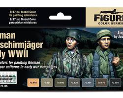 Paintset german Fallschirmjäger