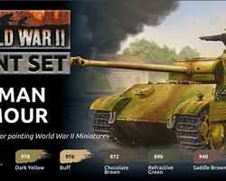 Paintset German armour WW2