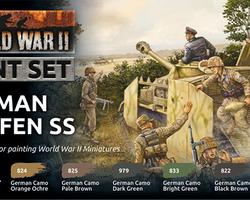 Paintset German Waffen SS