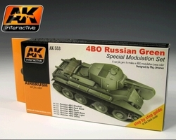 Russian green modulation color set
