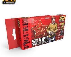 Soviet uniform WW2 color set