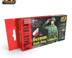 German uniform WW2 color set