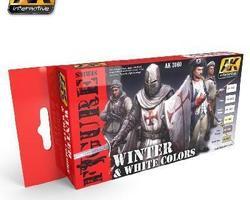 Winter & White uniforms color set