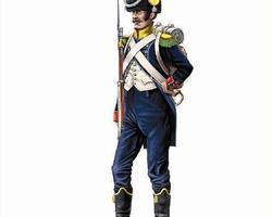 Nap French light infantry Voltigeurs