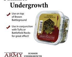 Battlefield summer undergrowth