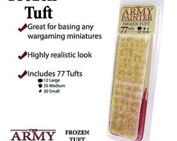 Frozen tufts