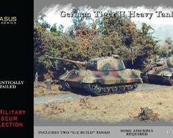 German Tiger II tank (2x) Quick build