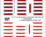 1/72 Nap. Prussian lancers (9)