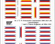 1/72 Nap. Prussian lancers (10)