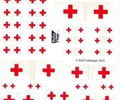 1/72 Red Cross flags since 1863