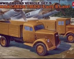 WW2 German Cargo truck