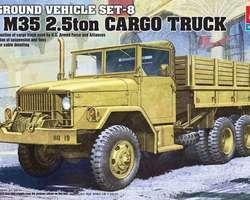 WW2 US M35 2.5 ton truck