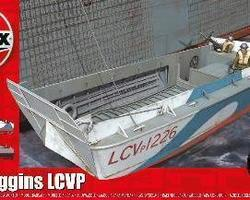 WW2 Higgins landing craft LCVP