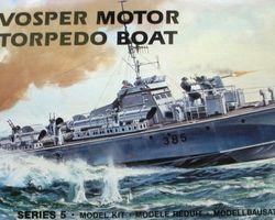 WW2 Vosper MTB boat