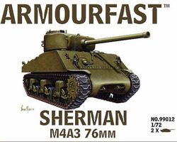 US Sherman M4A3 76mm tank