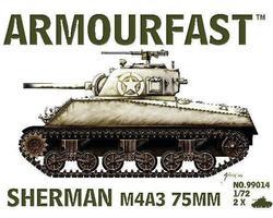 US Sherman M4A3 75mm tank