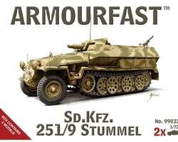 German SdKfz 251/9 Stummel