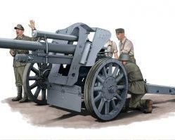 German LefH18 105 Howitzer