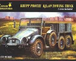 German Krupp Protze Kfz 69 truck