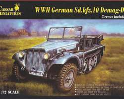 German SdKfz 10 Halftrack