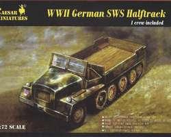 German SwS gen. cargo halftrack
