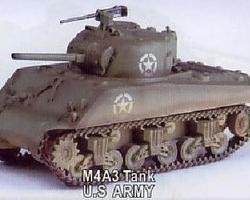 Sherman M4A3 75mm tank