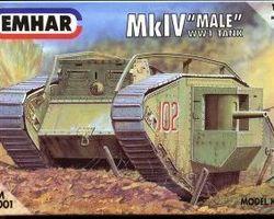British MkIV tank male