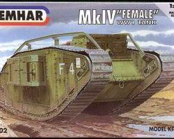 British MkIV tank female