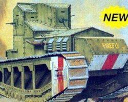 US Medium A Whippet tank