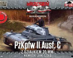 German Panzer II Ausf C