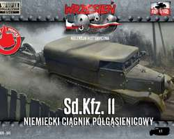 German SdKfz 11 halftrack