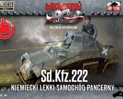 German SdKfz 222 Armoured car