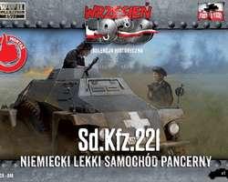 German SdKfz 221 Armoured car