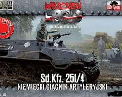 German SdKfz 251/4 Aust A halftrack