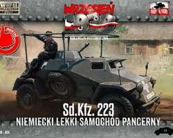 German SdKfz 223 Armoured car