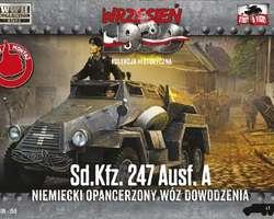 German SdKfz 247 Ausf A armoured car