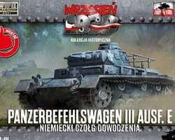 German Befehlswagen Panzer III Ausf E tank