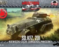 German SdKfz 231 6-rad armoured car