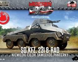 German SdKfz 231 8-rad armoured car