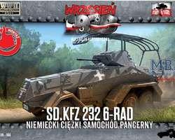 German SdKfz 232 6-rad armoured car