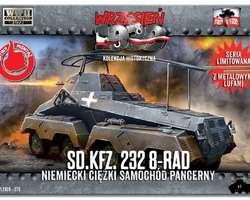 German SdKfz 232 8-rad armoured car