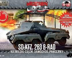 German SdKfz 263 8-rad armoured car