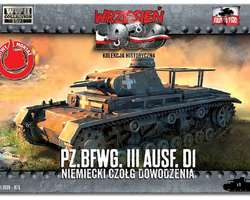 German Befehlswagen Panzer III Ausf D1 tank