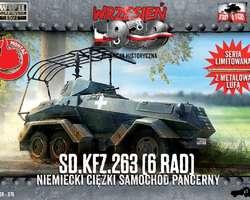 German SdKfz 263 6-rad armoured car