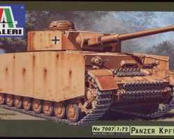German Panzer IV tank