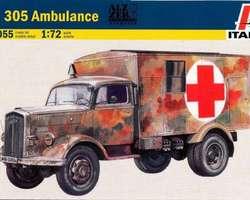 German Opel Kfz 305 Ambulance