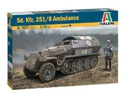 German SdKfz 251/8 Ambulance