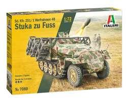 German SdKfz 251/1 Stuka zu Fuss