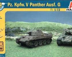 German Panther tanks (2x) Quick build